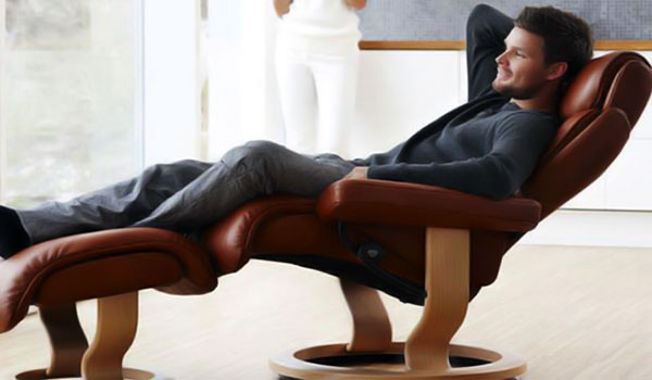 Leather Recliner Comfort First