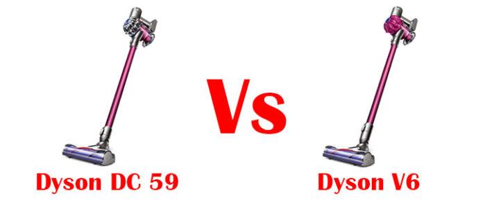 Dyson DC59 vs V6