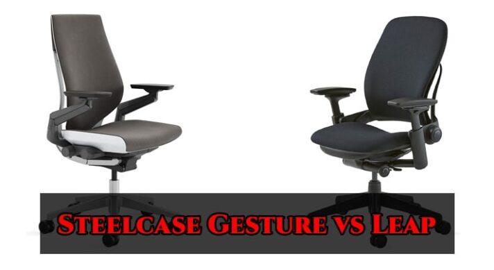 Steelcase Gesture vs Leap